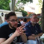 Zano & Micha beim Böhmen