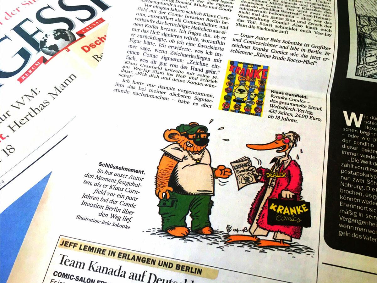 Sobottke gringo logbuch for Spiegel printausgabe